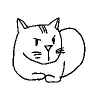 アイコン(プロフィール猫)
